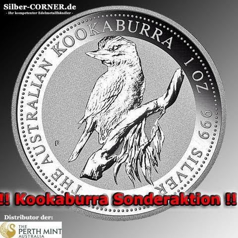 1995 1 Oz Silber Kookaburra