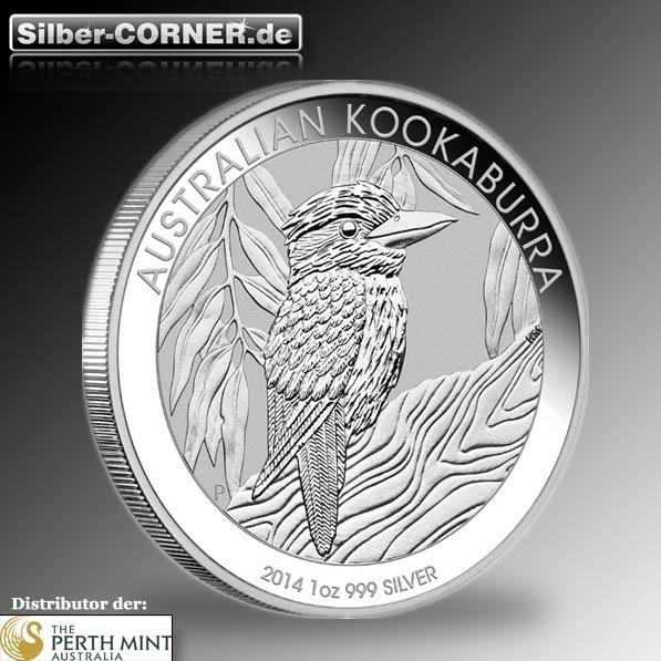 2014 Kookaburra 1 Oz Silber