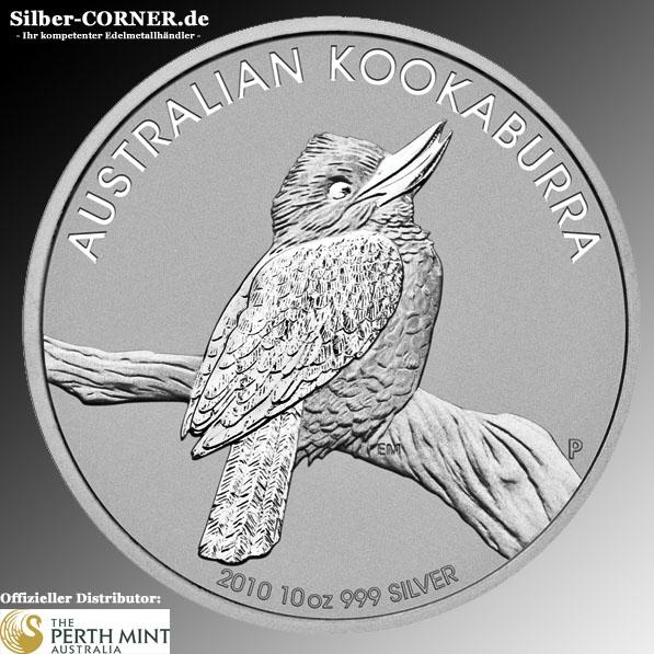 Kookaburra 2010 10 Oz Silber *