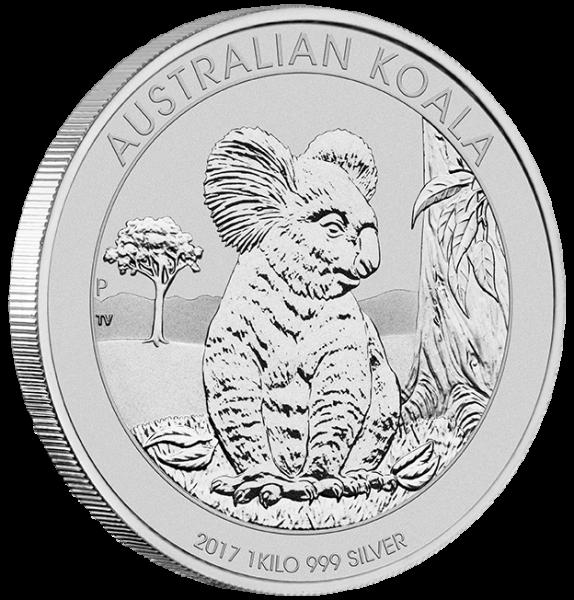 Koala 2017 1 KG Silber *
