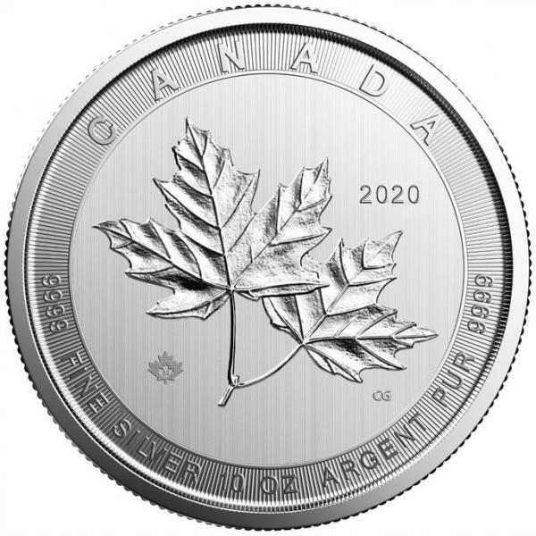 Maple Leaf Magnificent 10 Unzen Silber 2020