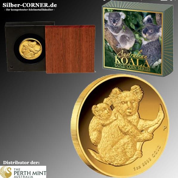 Koala 2008 1 Oz Gold Proof High Relief