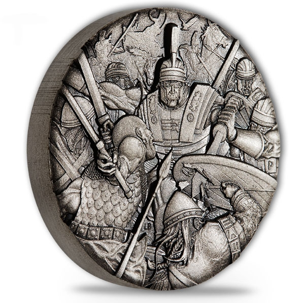 Warfare - Roman Legion - 2 Oz Silber Antik Finish *
