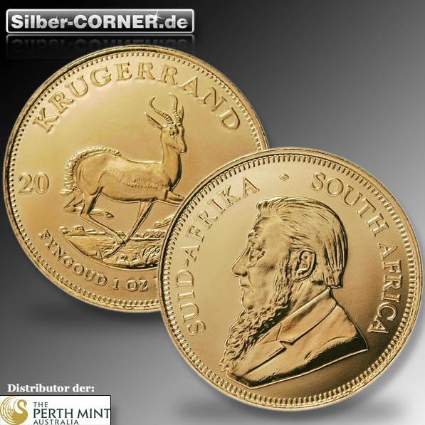 Krügerrand 1 Unze Goldmünze