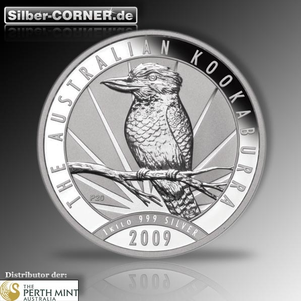 Kookaburra 1 KG Silber 2009 *
