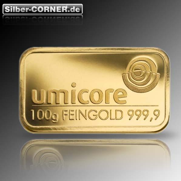 100 Gram Goldbarren