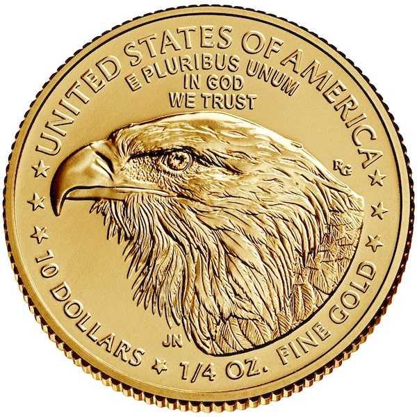 American Eagle Gold 1/4 Oz 2021 - Typ 2 -