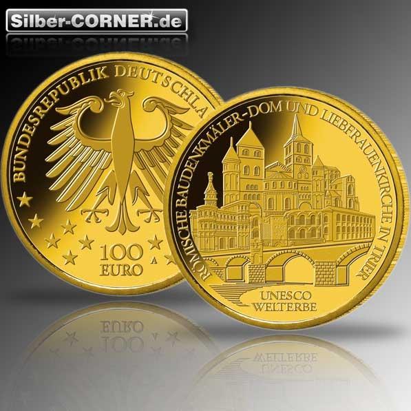 100 Euro Trier Goldmünze 2009