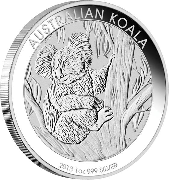 Australien Koala 1 Unze Silber 2013