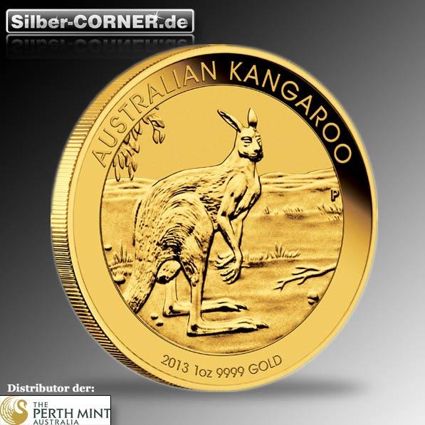 Kangaroo 2013 1/10 Oz Gold