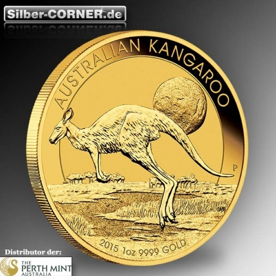 Känguru 1/4 Oz Gold 2015