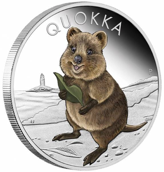 Quokka 1 Oz Silber Proof 2021 +Box +COA*