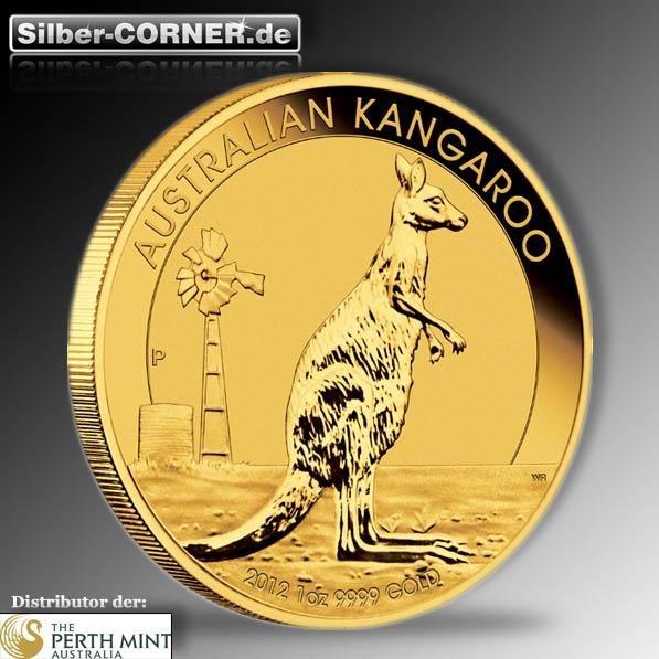 Känguru 1 Oz Gold 2012