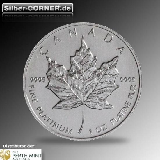 1/2 Oz Platin Maple Leaf