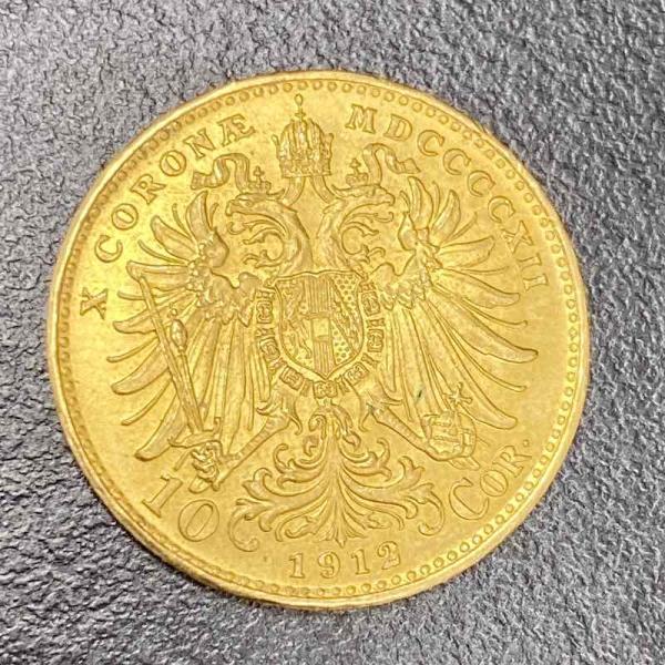 Gold ÖS 10 Kronen (Österreich)