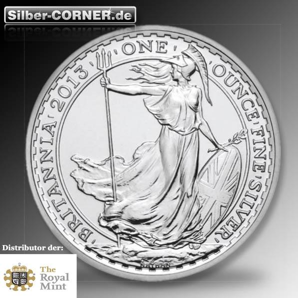 Britannia Silber 1 Oz 2013 *