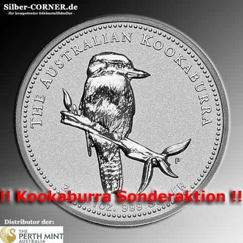 Perth Mint 1 Oz 2005 Kookaburra