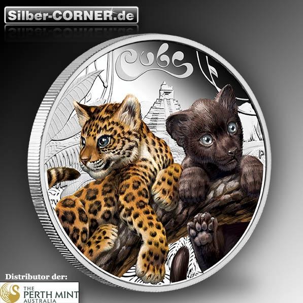 1/2 oz Silber Jaguar