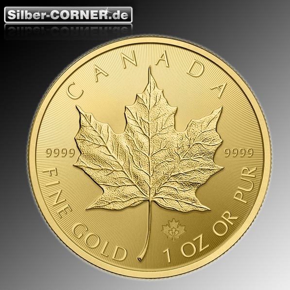 Maple Leaf 1 Oz Gold 2019