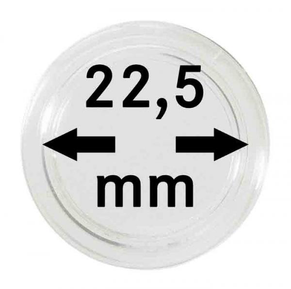 Münzkapsel 22,5mm