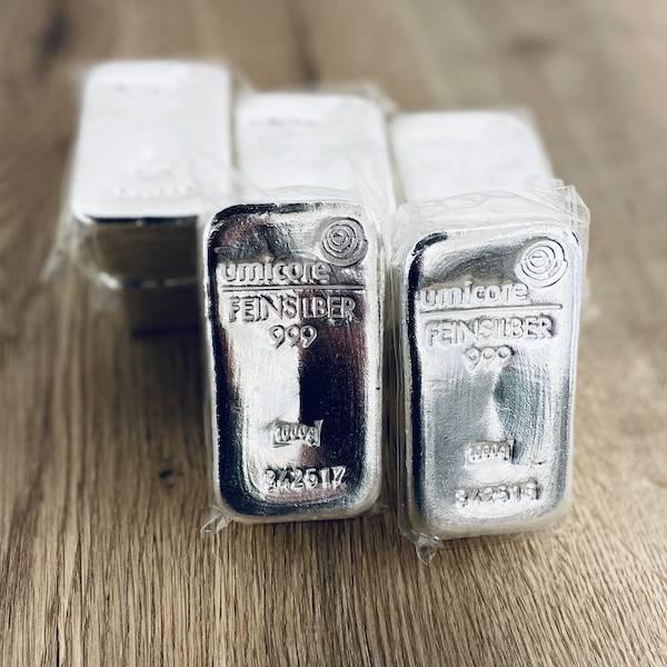 Umicore Silberbarren 1 KG *