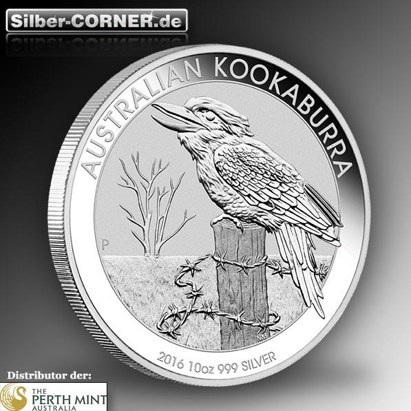 Kookaburra 2016 10 Oz Silber *