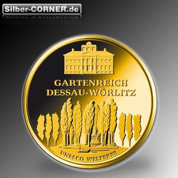 Dessau 100 Euro Goldmünze