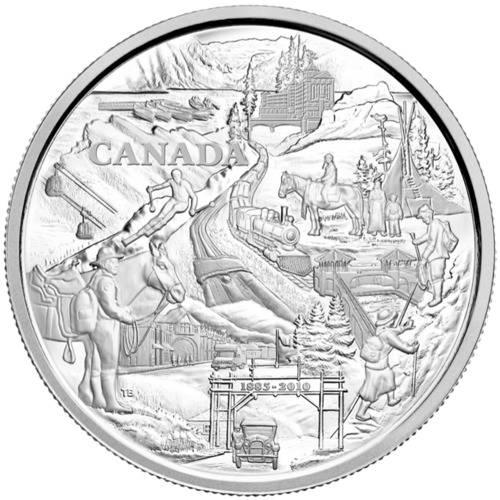 Kanada - 125Jahre Banff National Park - 1 KG Silber 2010. *