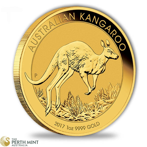 Känguru 1 Oz Goldmünze 2017
