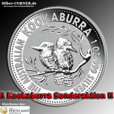 1994 1 Oz Silber Kookaburra