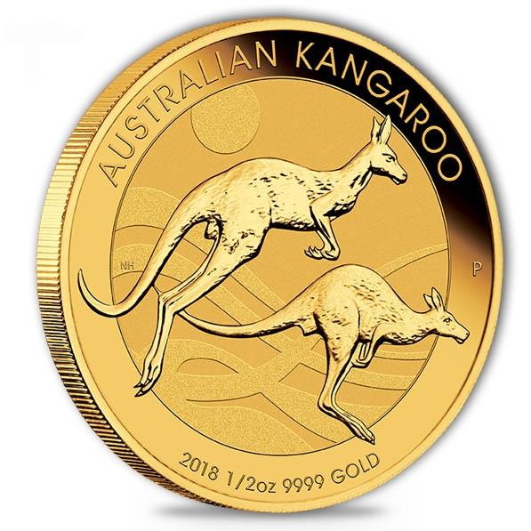 Känguru 1/2 Oz Gold 2018