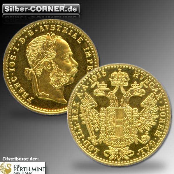 1 Dukat Münze Österreich
