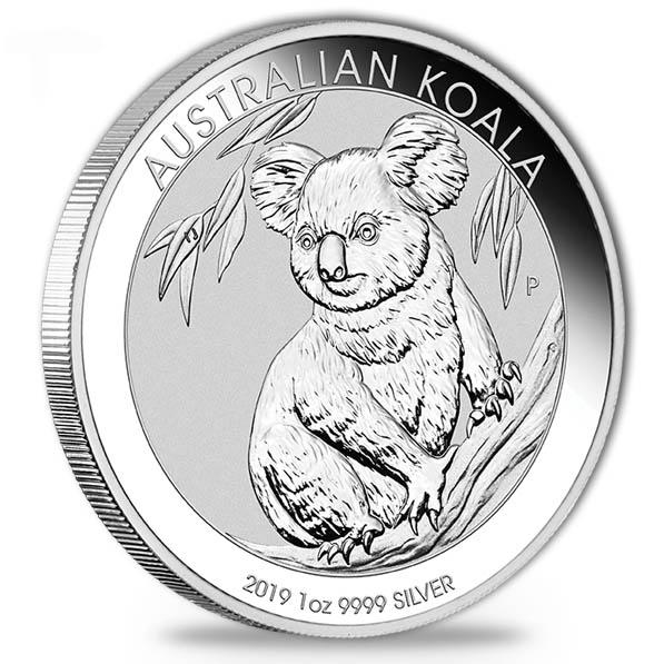 Australien Koala 1 Oz Silber 2019 *