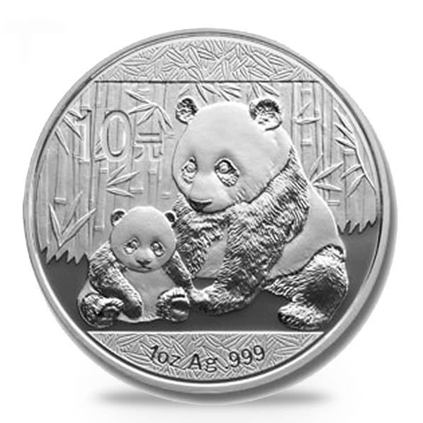 China Panda 1 Oz Silber 2012*