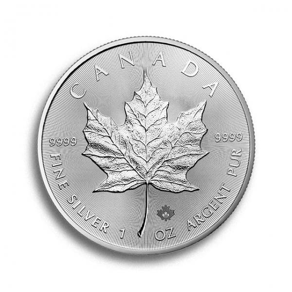 Maple Leaf 1 Unze Silbermünze