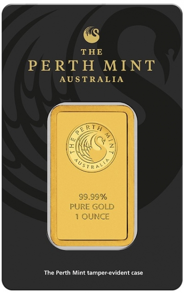 Perth Mint Goldbarren 1 Unze Känguru