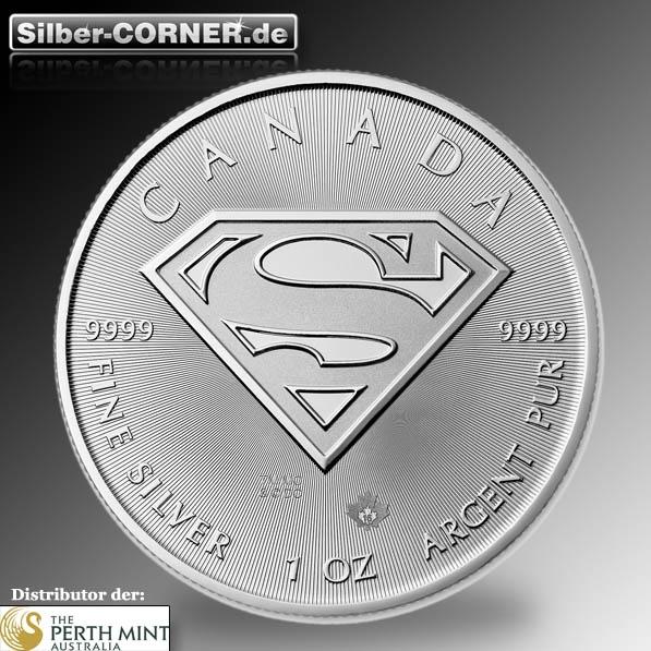 Superman 1 oz silbermünze