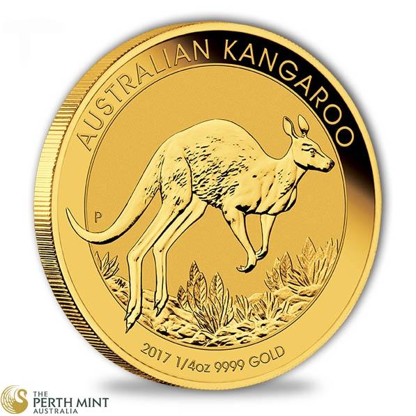 Känguru 1/4 Oz Gold 2017