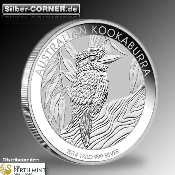 Kookaburra 2014 1 Kg Silber *