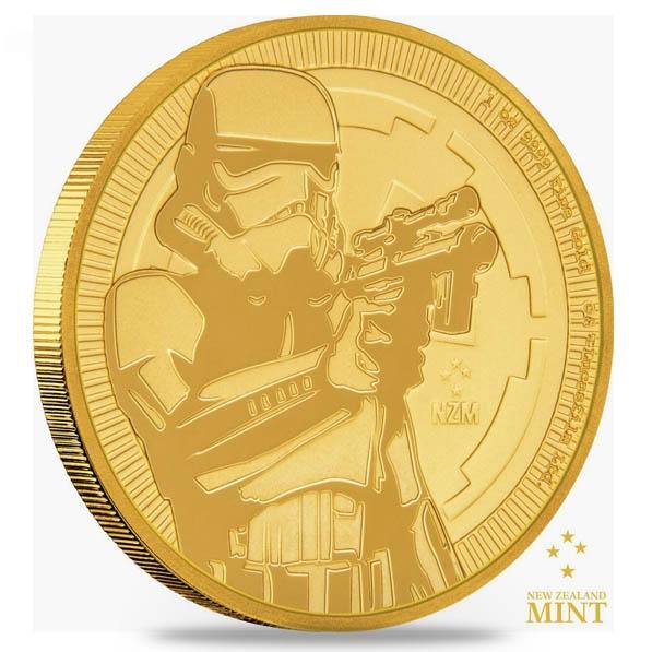 Star Wars - Stormtrooper - 1 Oz Gold 2018