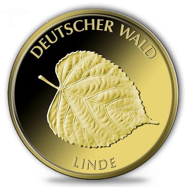 1/8 Oz Gold Deutscher Wald Linde 2015