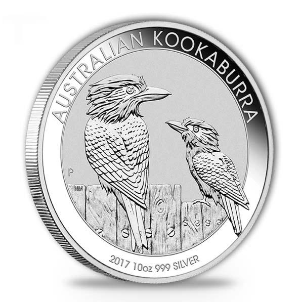Kookaburra 2017 Silber 10 Unzen*