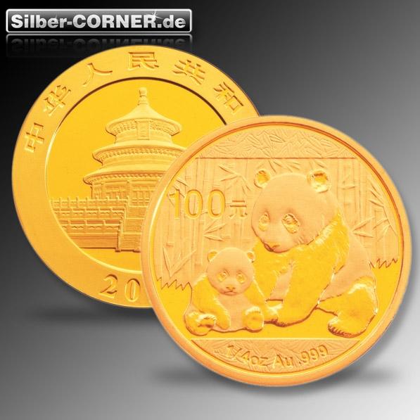 China Panda 2012 1/4 Oz Gold