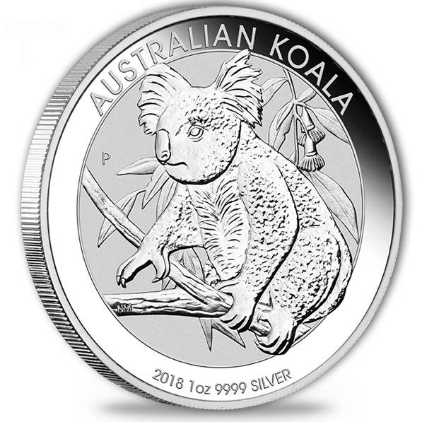 Koala 2018 1 Oz Silber *