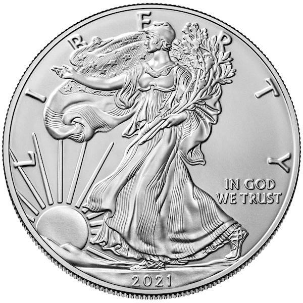 American Eagle 1 Unze Silber 2021