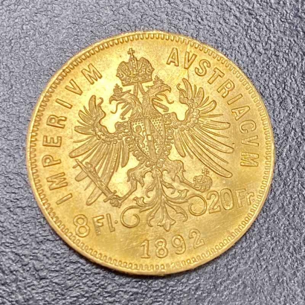 Gold 8 Florin (Österreich)
