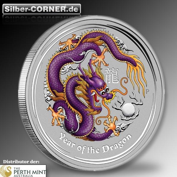 lunar purple drache silber