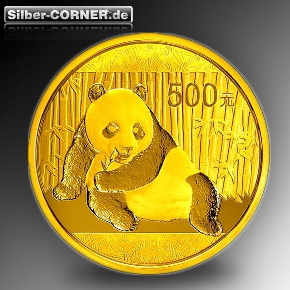 500 Yuan China Panda 2015