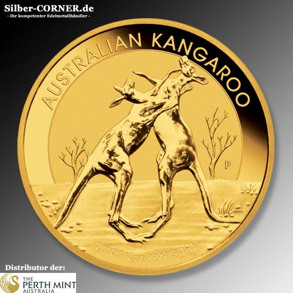 Känguru 1/2 Oz Gold 2010