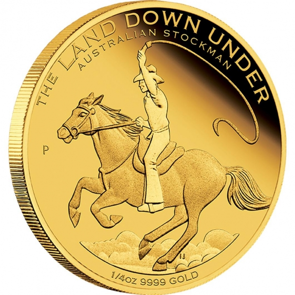 Gold Stockman The Land Down Under
